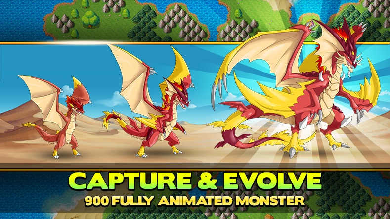 Neo Monsters_capture and evolve