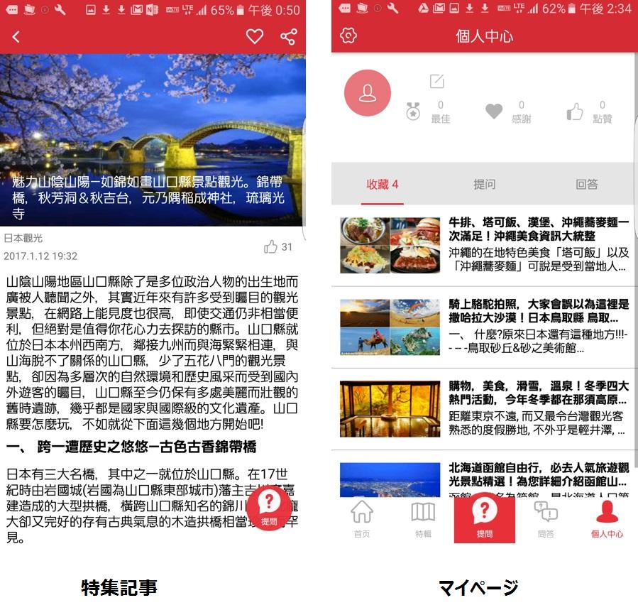 特集記事詳細・マイページ